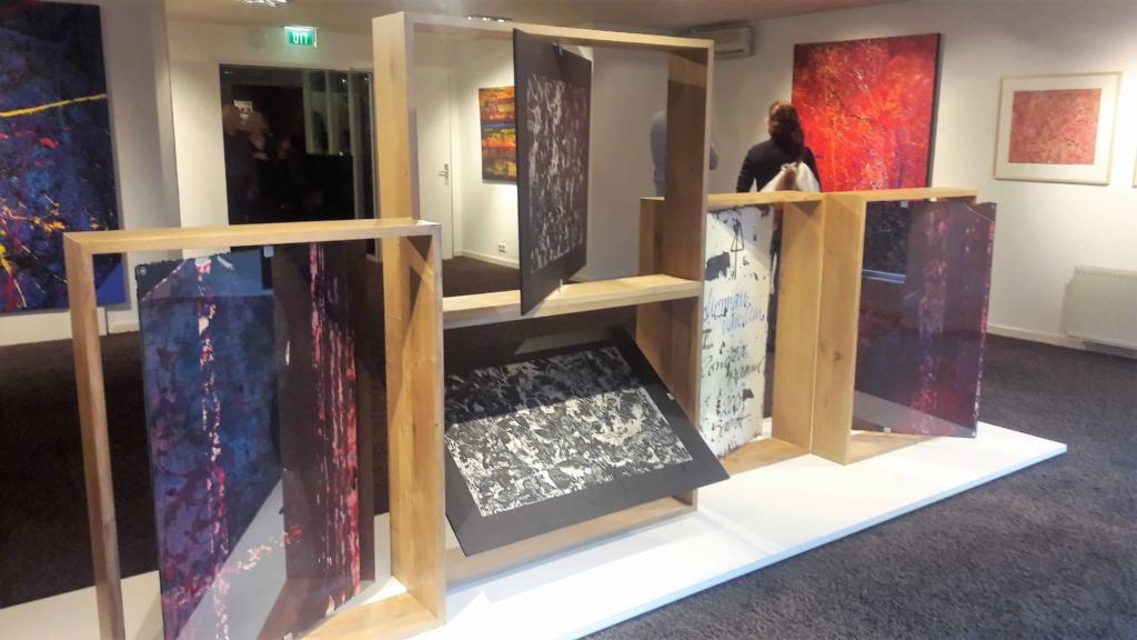 Kunstmeubel tentoonstelling eikenhout meubelmakerij Alkmaar Leven in Stijl
