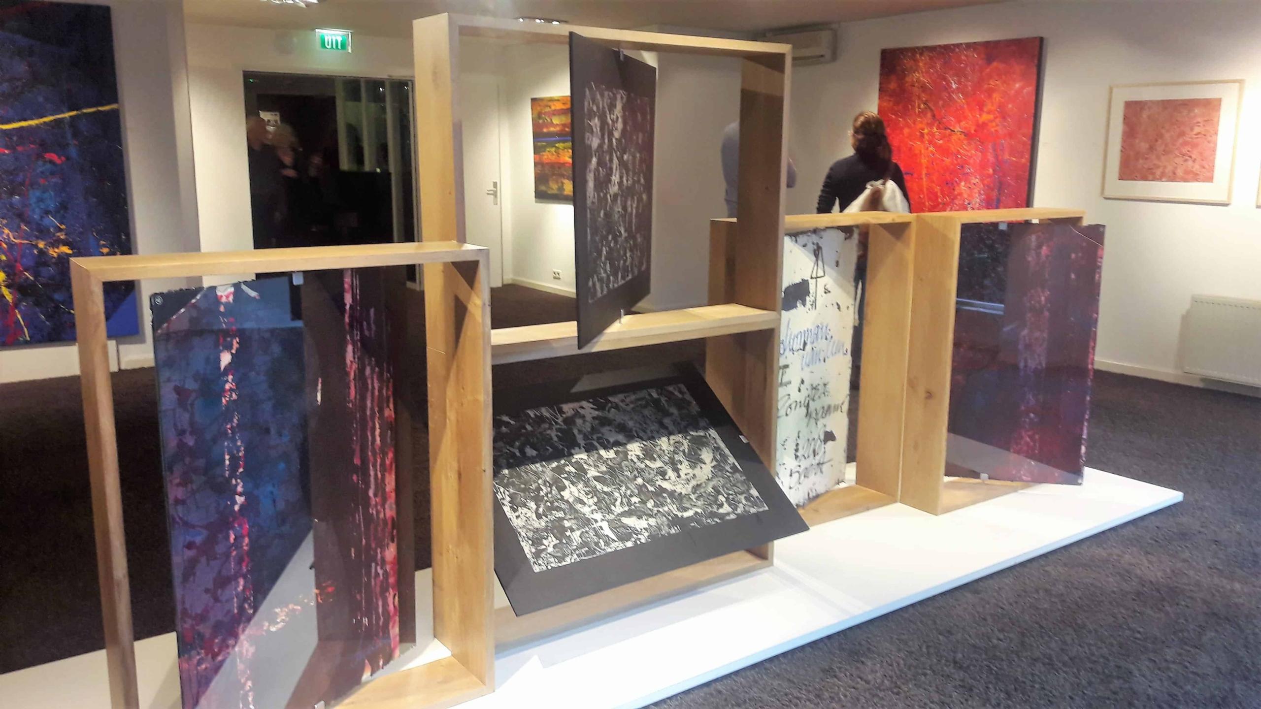 Meubels voor tentoonstelling