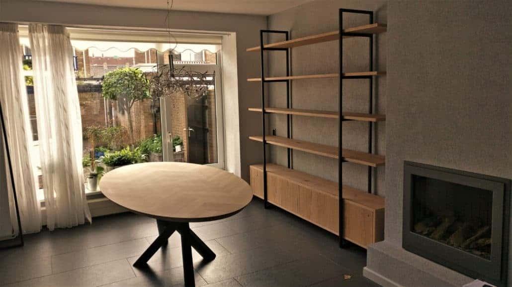 Berg meubel met push-to-open deuren