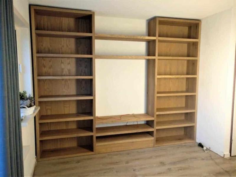 Boekenkast en TV meubel ineen
