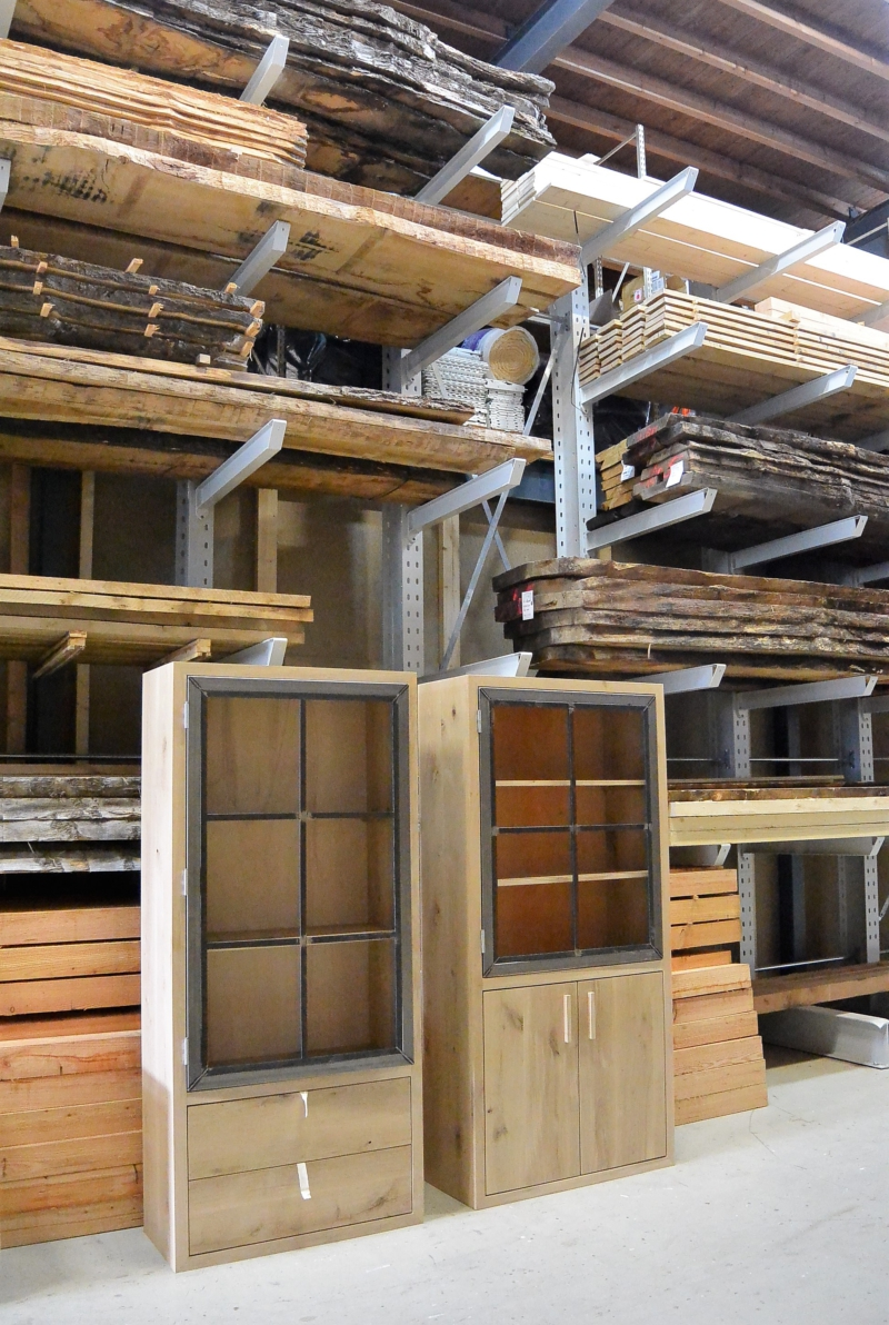 Buffetkast op maat gemaakt meubelmakerij
