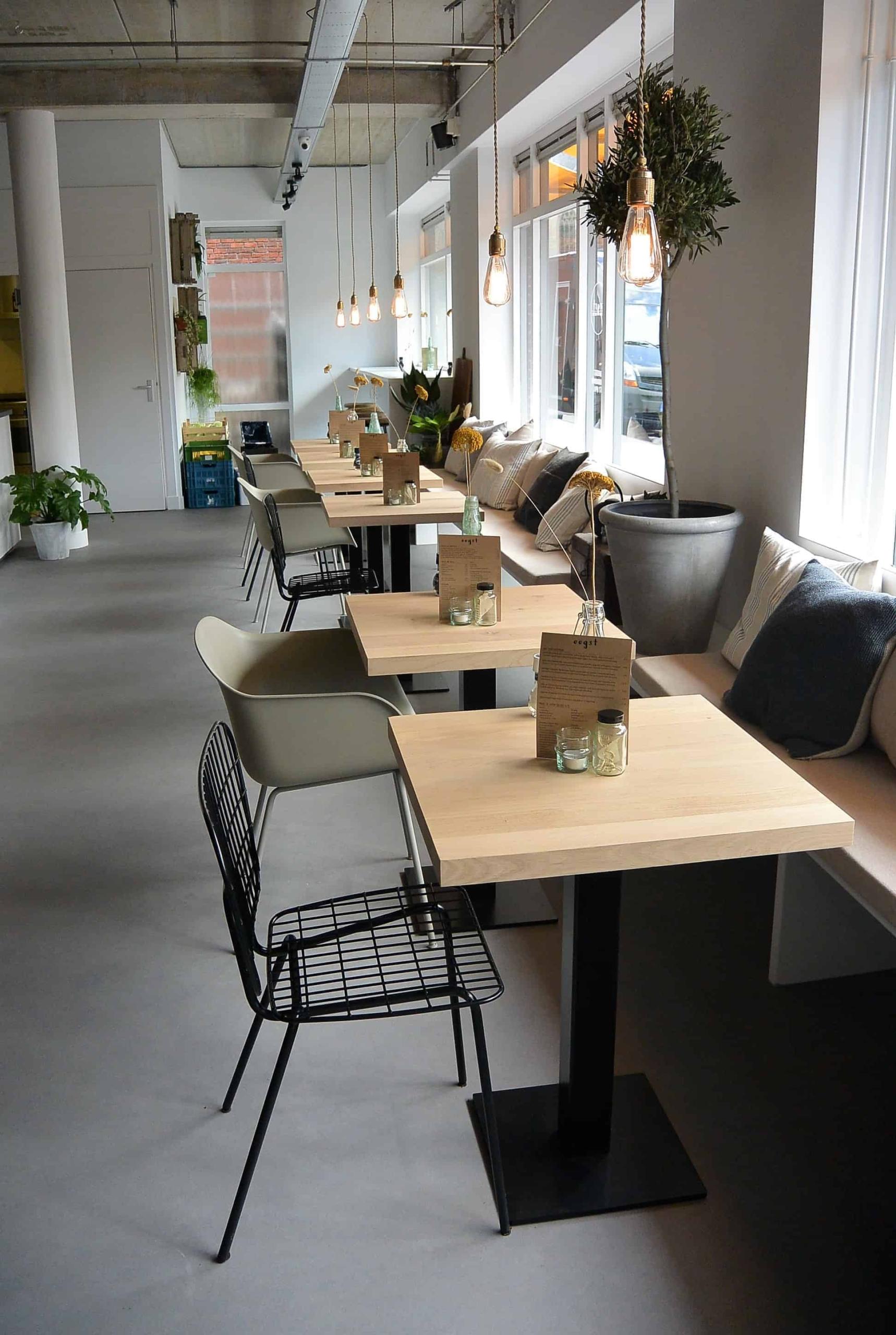 Maatwerk bistro tafel