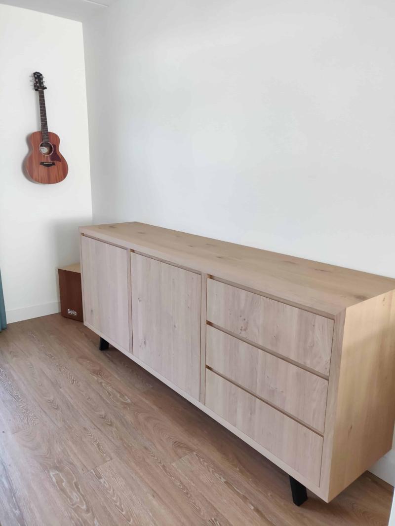 Eikenhout dressoir kast