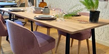 Leven in Stijl meubelmakerij Alkmaar voor tafels en meubels op maat van hout en staal en altijd in onze gedetaileerde kwaliteit