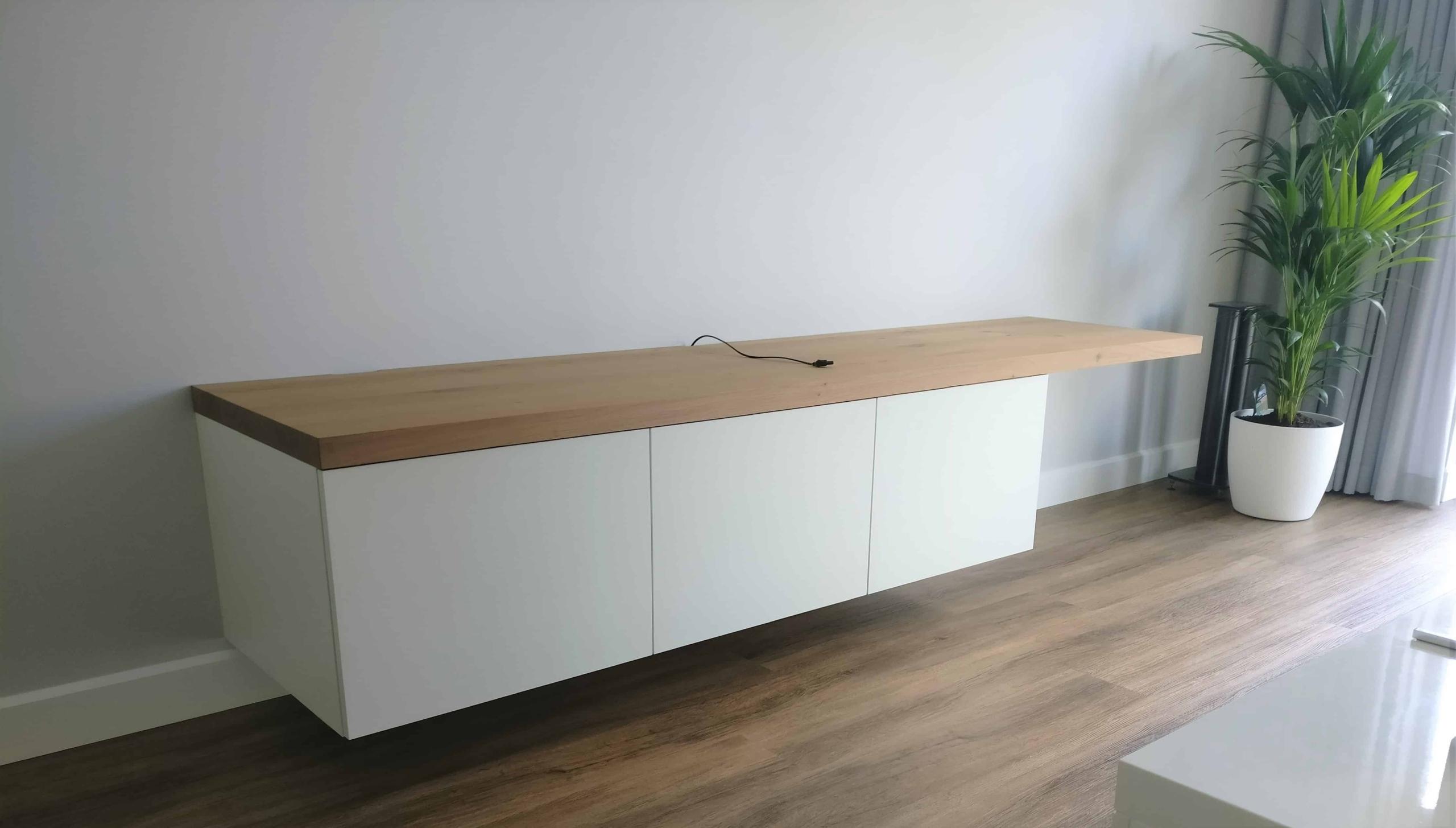 TV meubel met eiken blad